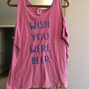 Tops - Wish you were beer tank